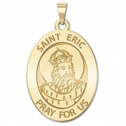 Saint Eric Oval Medal   EXCLUSIVE