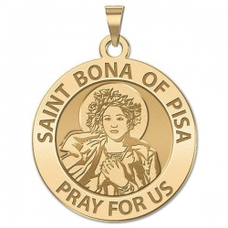 Saint Bona of Pisa Medal  EXCLUSIVE