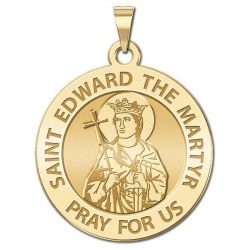 Saint Edward the Martyr Medal  EXCLUSIVE