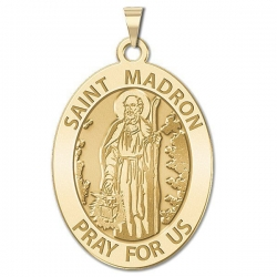 Saint Madron OVAL Medal   EXCLUSIVE
