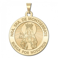 Our Lady of Monsterrat Medal   EXCLUSIVE