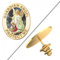 Guardian Angel  Protect Me  Color Pin   EXCLUSIVE