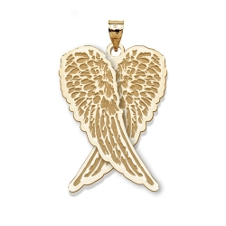 Guardian Angel Folded Wings Medal   EXCLUSIVE