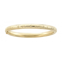 14k Gold Filled Children s Bangle Bracelet