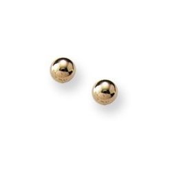 14K Yellow Gold Children s Stud Earrings