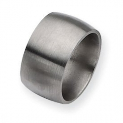 Titanium 12mm Satin Wedding Band