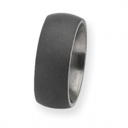 Titanium Stone Finish 7mm Wedding Band