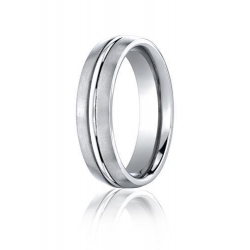 Cobalt Chrome Comfort Fit 6mm Wedding Band