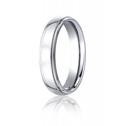 Cobalt Chrome Comfort Fit 5mm Wedding Band