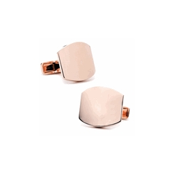 Gold Tone  Classic  Engraveable Cufflinks