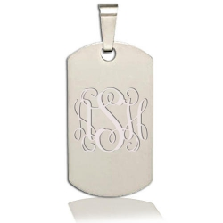Dura Tungsten Dog Tag