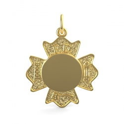 FIRE DEPT  BADGE ENGRAVABLE