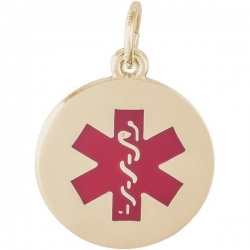 MEDICAL SYMBOL RED PAINT ENGRAVABLE