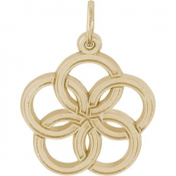 05 FIVE GOLDEN RINGS ENGRAVABLE
