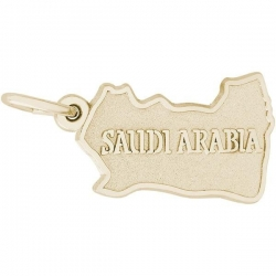 SAUDI ARABIA MAP ENGRAVABLE
