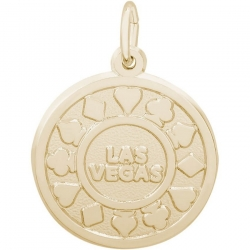 LAS VEGAS POKER CHIP ENGRAVABLE