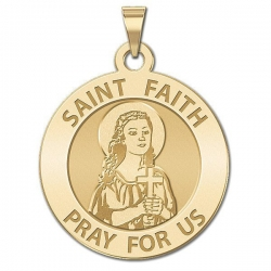 Saint Faith Medal  EXCLUSIVE