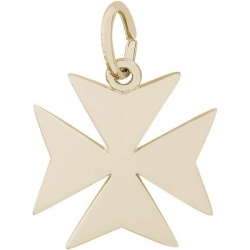 MALTESE CROSS ENGRAVABLE
