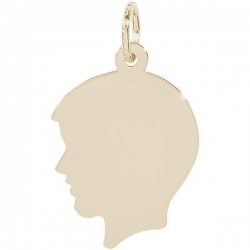 BOYS HEAD ENGRAVABLE