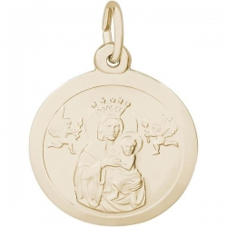 MADONNA AND CHILD ENGRAVABLE