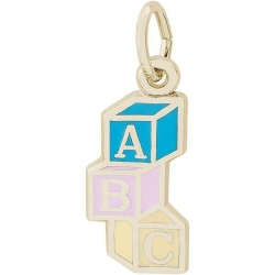 ABC BLOCK ENGRAVABLE