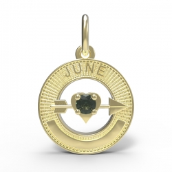 BIRTHSTONES JUNE ENGRAVABLE