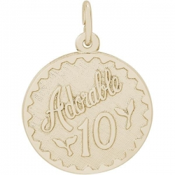 ADORABLE 10 ENGRAVABLE