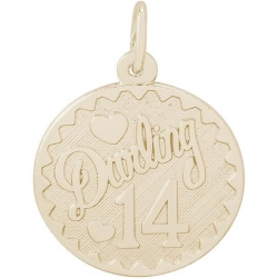 DARLING 14 ENGRAVABLE