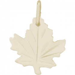 MAPLE LEAF   SATIN ENGRAVABLE