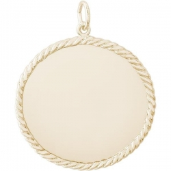 ROPE DISC ENGRAVABLE
