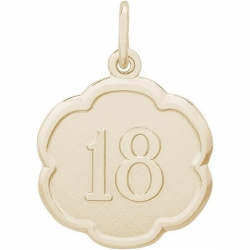 NUMBER 18 ENGRAVABLE