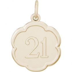 NUMBER 21 ENGRAVABLE