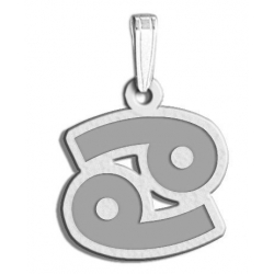 Cancer Symbol Outline Charm or Pendant