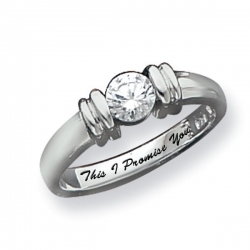 Sterling Silve Promise Ring
