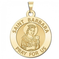 Saint Barbara Medal  EXCLUSIVE