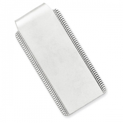 Sterling Silver Engravable Money Clip