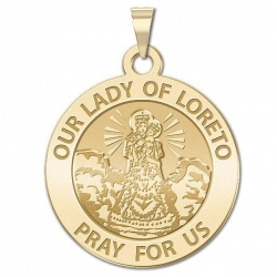 Our Lady of Loreto Medal   EXCLUSIVE