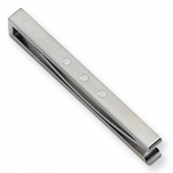 Stainless Steel Tie Bar W  Enamel