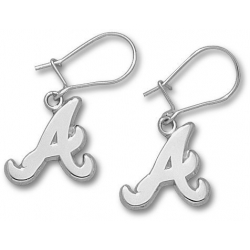 Atlanta Braves 1 2 Inch Earrings