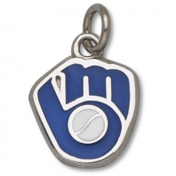 Milwaukee Brewers 1 2 Inch Charm