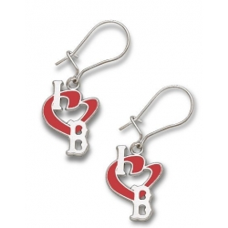 Boston Redsox 1 2 Inch Earrings