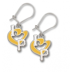 Pittsburgh Pirates 1 2 Inch Earrings