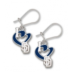 San Diego Padres 1 2 Inch Earrings