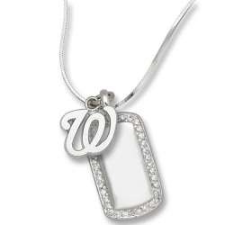 Washington Nationals 1 2 x 1 Inches Charm