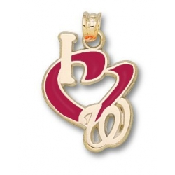 Washington Nationals  3 4 Inch Charm