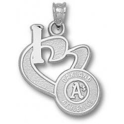 Oakland Athletics 3 4 Inch Medallion