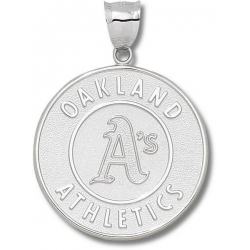 Oakland Athletics 1 1 2 Inch Medallion