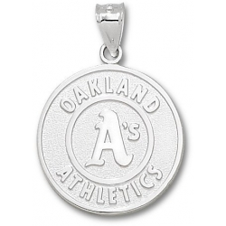 Oakland Athletics 1 Inch Medallion