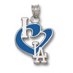 Los Angeles Dodgers 3 4 Inch Medallion