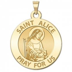 Saint Alice Medal  EXCLUSIVE